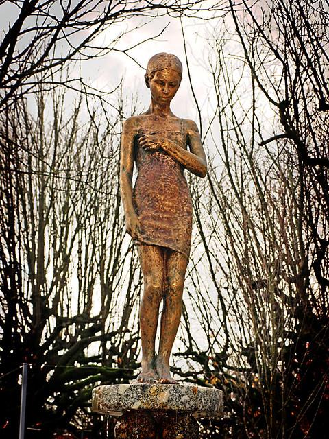 Waif Statue, Guimaraes, Portugal