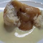 ©Rohrnudeln mit Apfelmus und Vanillesauce (2)
