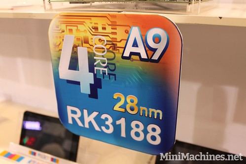CES 2013 : RockChip Booth