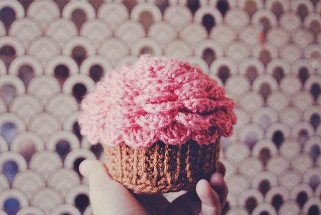 Haakpatroon Cupcake Doosje