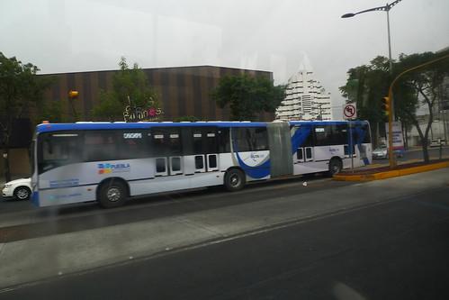 Metrobus BRT - Puebla, Mexico