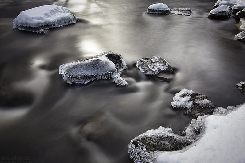 longexposure winter snow motion cold ice nature water canon river season lens landscape flow coast waterfall scenery stream durham january scenic newengland newhampshire falls packers le nd lamprey seacoast hoya lseries 1635mm packersfalls 9stop 5dmarkii