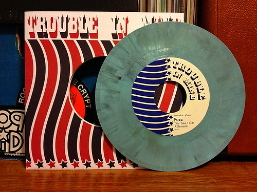 "Fuzz - This Time I Got A Reason 7"" - Blue Vinyl (/500) by Tim PopKid"