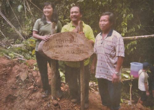 Micro hydro project kg tiku Penampang
