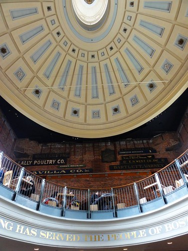 Quincy Market's Dome in Boston