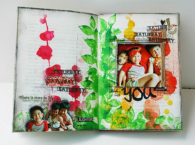 Growing-into-you-journal-page-by-Do-More-With-Less