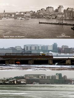 Gothenburg, Hamnen 1940 / 2013