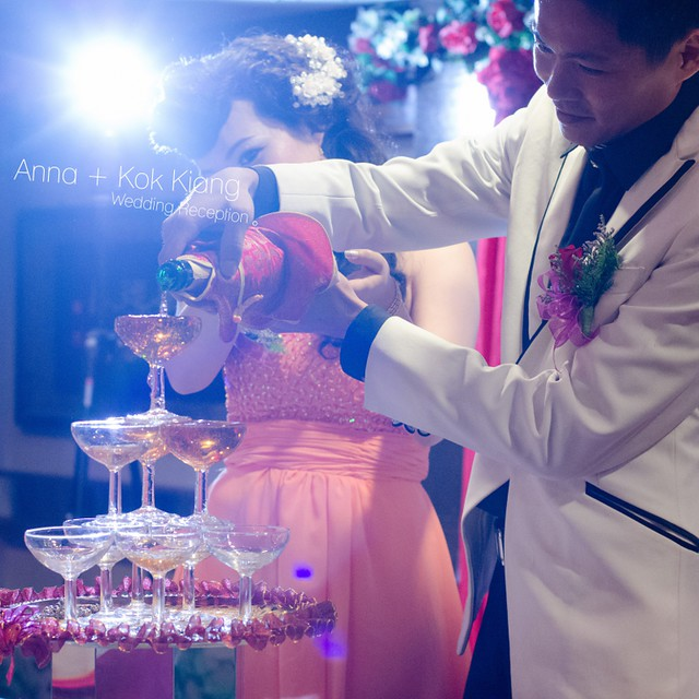 Anna & Kok Kiang Wedding Reception1