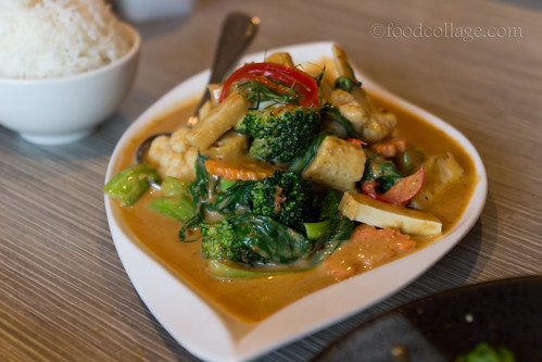 Thai Red Curry at Thai Basil (Toronto)