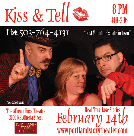 Portland Story Theater Portland Valentine's Day