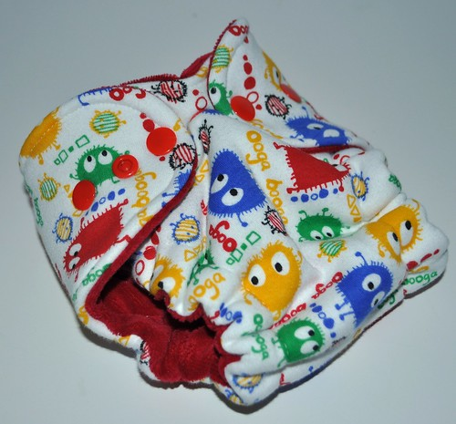 Bumstoppers Newborn Rainbow Ooga Hybird Fitted **New Style**