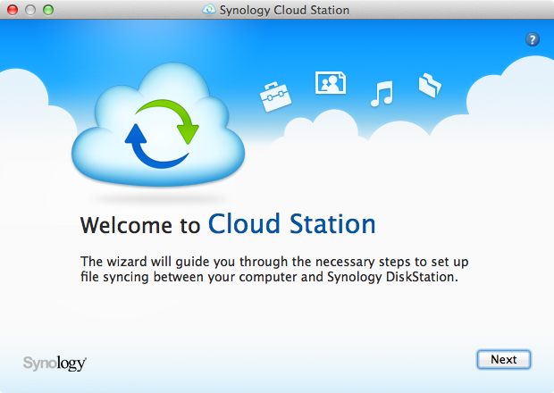 Cloud Station Client - Step 1