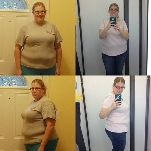 20% (60 lbs. down) collage