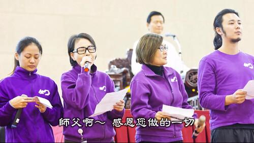 江淑娜師姐獻唱佛曲給妙禪師父
