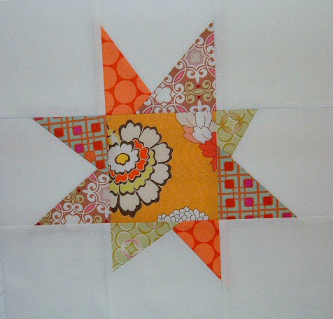 Feb13 bee block wonky star