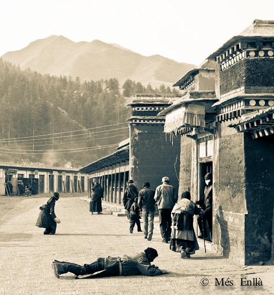 Monasterio de Labrang, en el Tibet