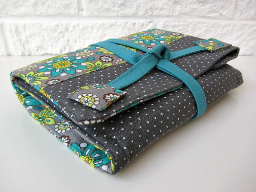 Flowery art wrap