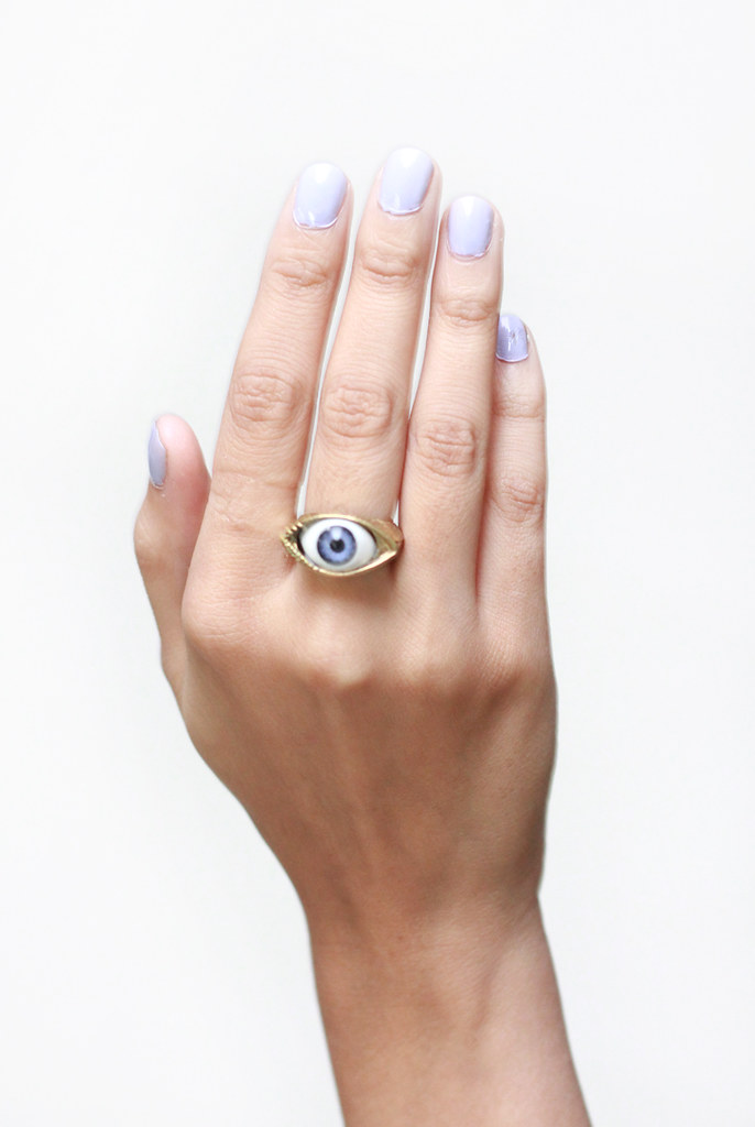 eyeball eye ring by Tarte Vintage at shoptarte.com