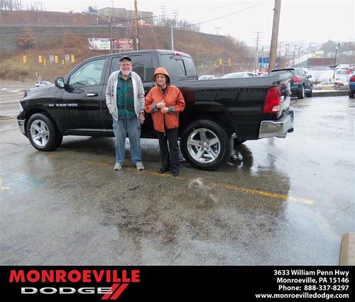 Congratulations to Donna Cooper on the 2012 Dodge Ram by Monroeville Dodge