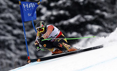 Manuel Osborne-Paradis battles to 16th-place finish after starting 28th in men's super-G at the world championships in Schladming, Austria.