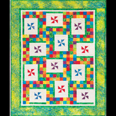 Cozy Quilt Designs Lucky Charms quilt pattern