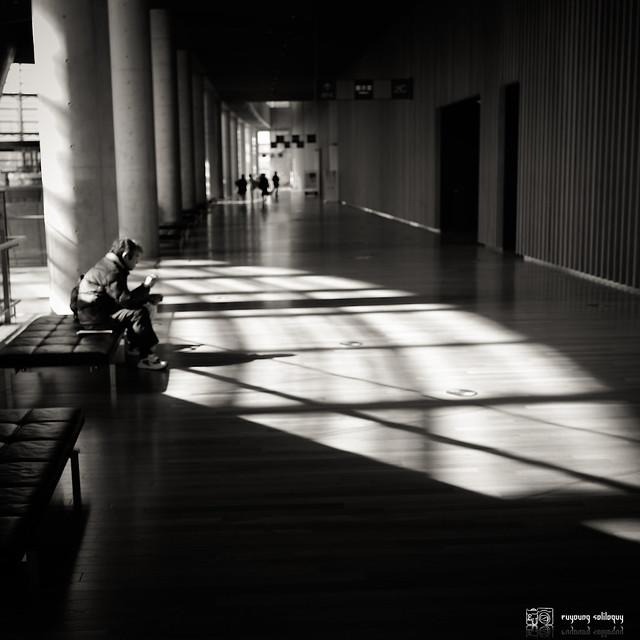 #4 國立新美術館,影子們