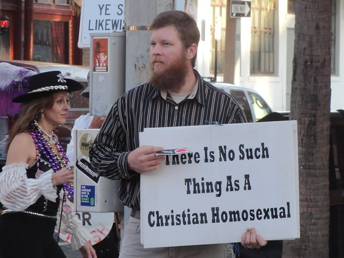 """There Is No Such Thing As A Christian Homosexual"""