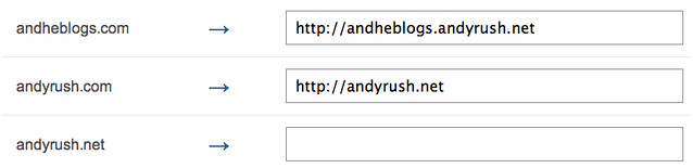 andyrush.com to andyrush.net