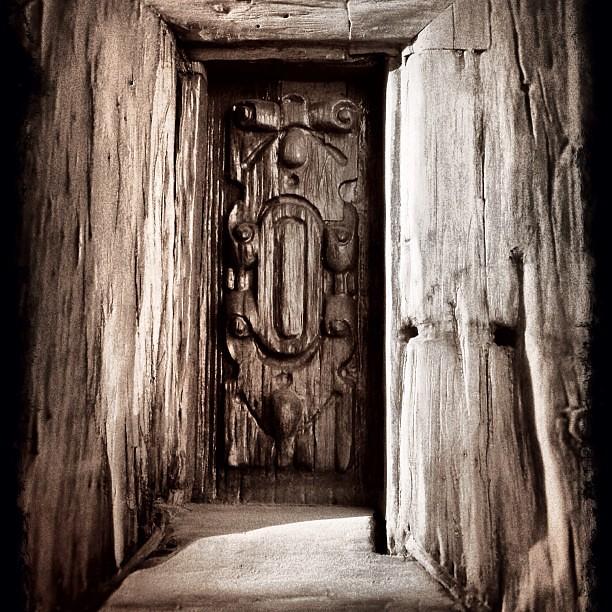 Retablo de puerta antigua iglesia de juchitepec m xico c for Puertas de cuarterones antiguas