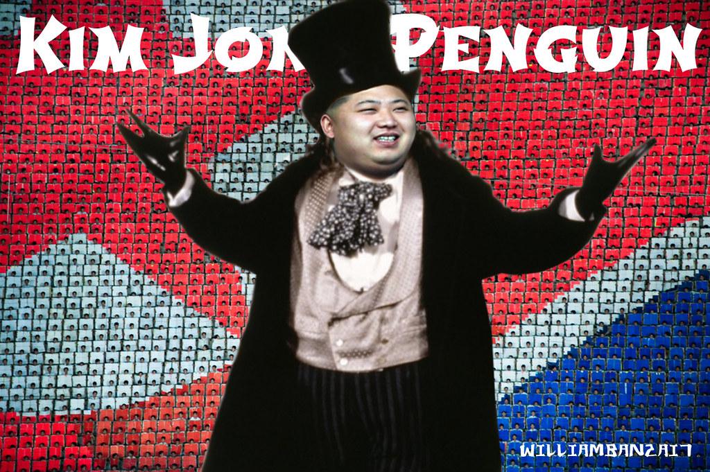KIM JONG PENGUIN