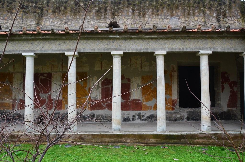 Oplontis, villa of Sabina Poppaea, Nero's second wife (7