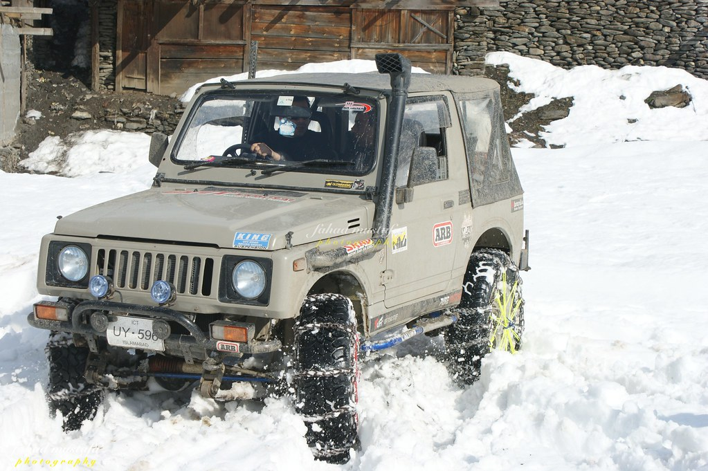 Muzaffarabad Jeep Club Neelum Snow Cross - 8470708907 56c9873929 b