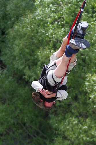 Valentine's Day Bungee Jump - Kawarau Bridge, New Zealand