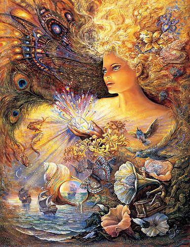 023-El cristal de encantamientos-Josephine Wall-via www.dana-mad.ru