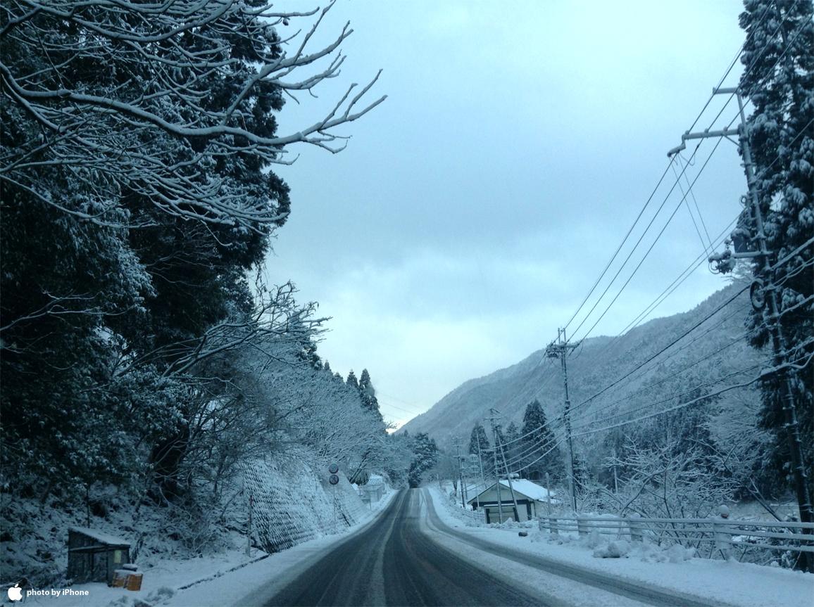 鯖街道(冬)
