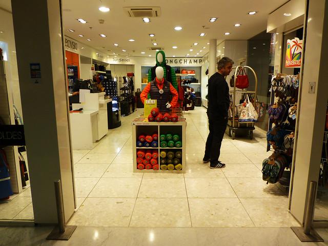 Shopping at CDG