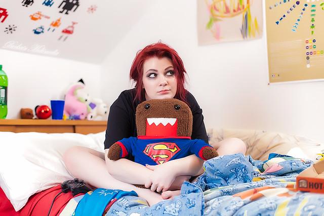 Sexy naked redhead slut