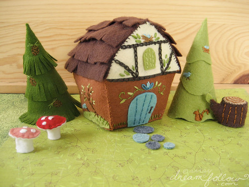 woodland cottage PDF pattern