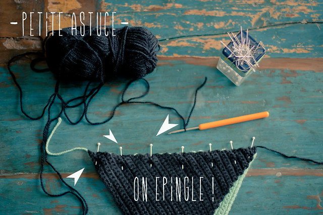 tuto triangle au crochet