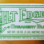 Gilt Edge Butter