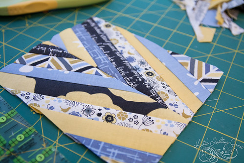 Madrona Road Challenge Quilt Start