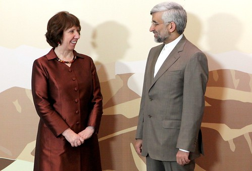 Catherine Ashton & Dr Saeed Jalili