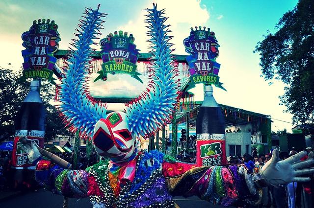 Lechon en Carnaval de Santiago