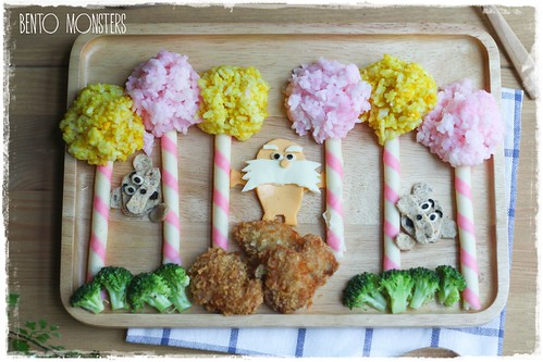 Lorax and Barbaloot Bento
