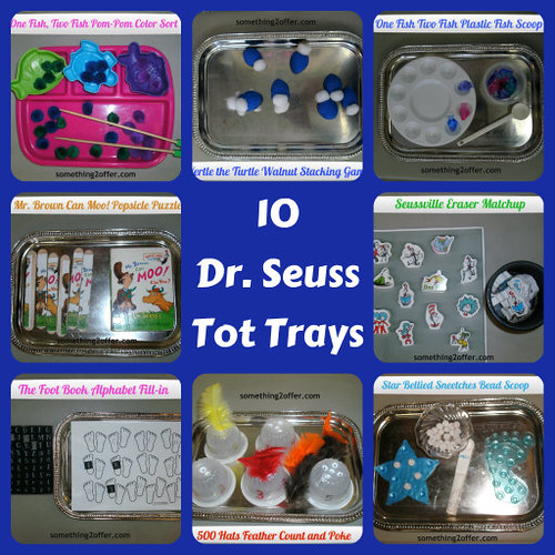 Dr. Seuss Tot Trays (Photo from Something 2 Offer)