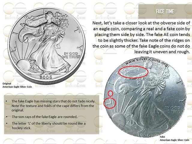 american eagle silver coin real vs fake silver bullion authentic vs fake