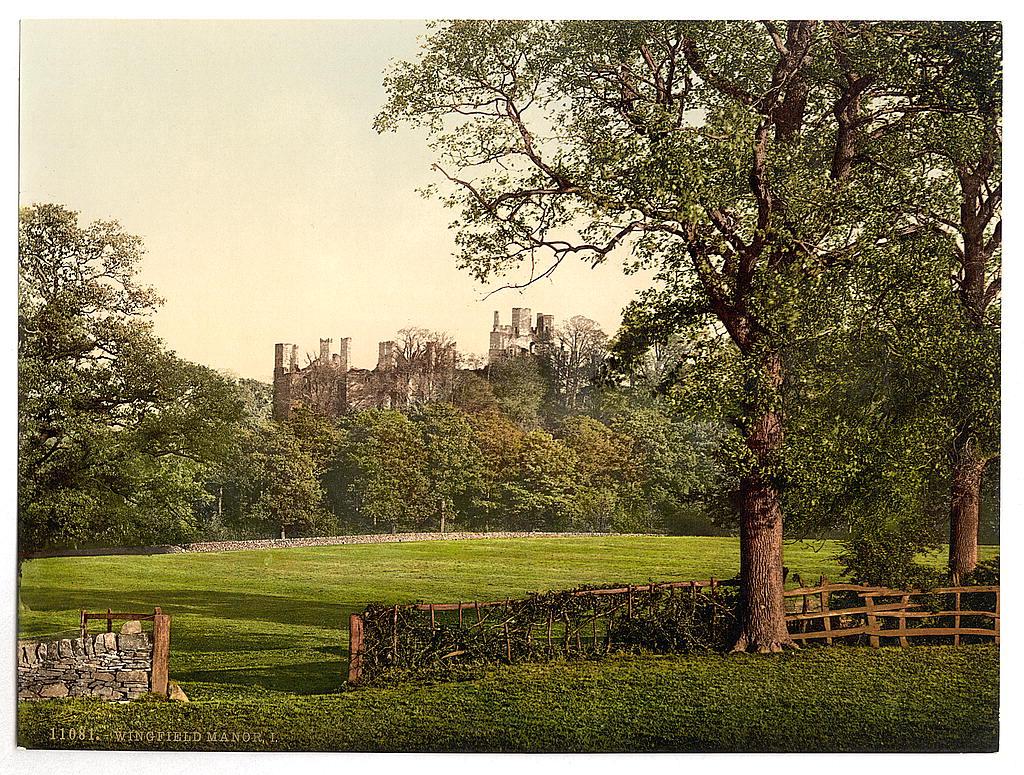[Wingfield Manor, I., Derbyshire, England]  (LOC)