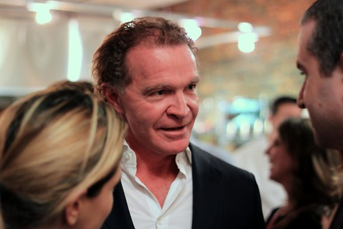Chef Mark McEwan at S. Pellegrino's Almost Famous Chef Competition