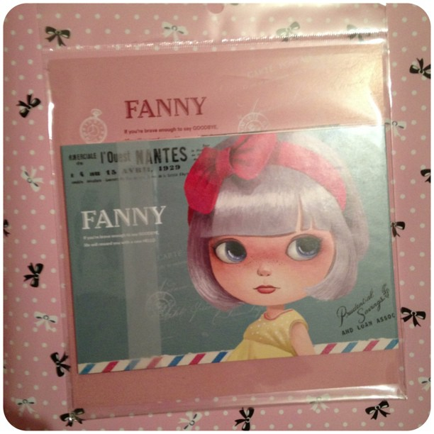 #postcards #fanny #yozocraft #stationery #snailmail #girls
