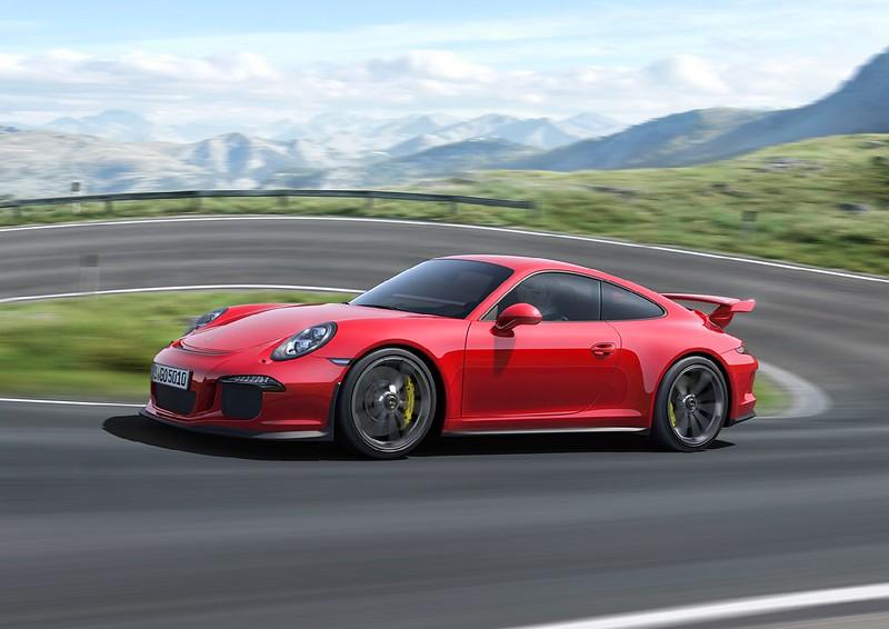 2014 Porsche 911 GT3 right